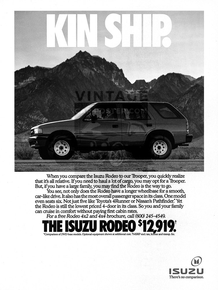 1992 Isuzu Rodeo     #103794
