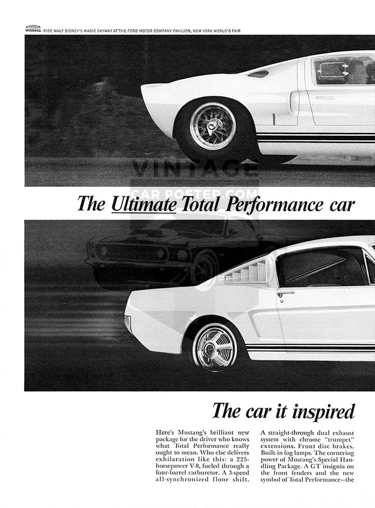 1965 Ford Mustang GT      #100643