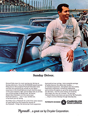 1966 Chrysler Plymouth Belvedere     #100739