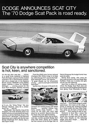 1970 Dodge Charger Scat Pack     #101362