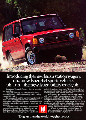 1984 Isuzu Trooper II     #103383