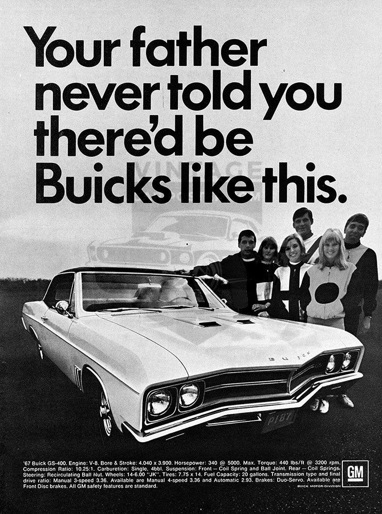 1967 Buick GS400     #100845