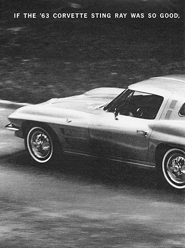 1964 Chevrolet Corvette Sting Ray      #100428