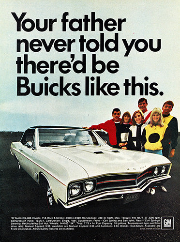 1967 Buick GS400     #100844