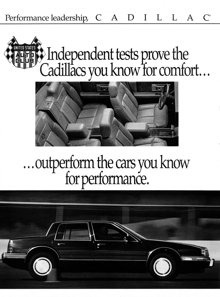 1989 Cadillac Seville STS      #103556