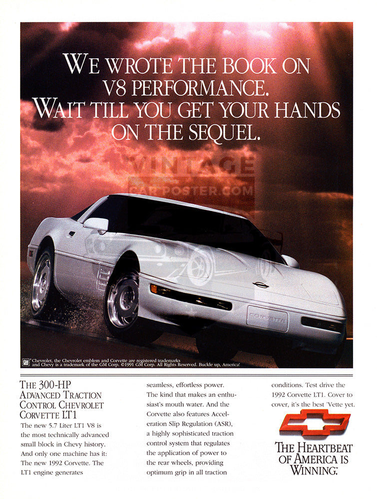 1992 Chevrolet Corvette LT1     #103705