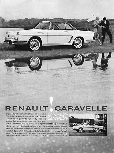 1960 Renault Caravell Convertible     #100178