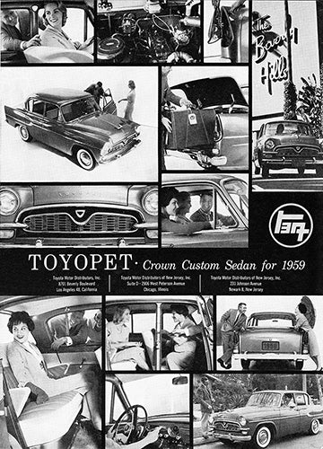 1958 Toyota Toyopet Crown Custom     #100077