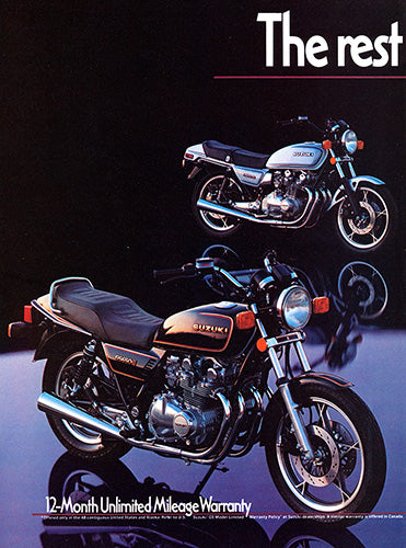 1981 Suzuki Motorcycle GS-650E      #103114