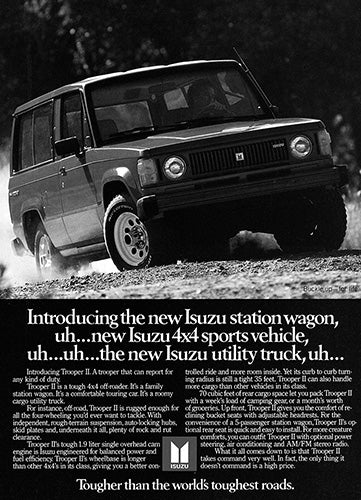 1984 Isuzu Trooper II     #103384