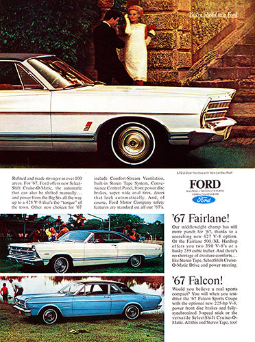 1967 Ford LTD Mustang Hardtop Fairlane Falcon      #100858