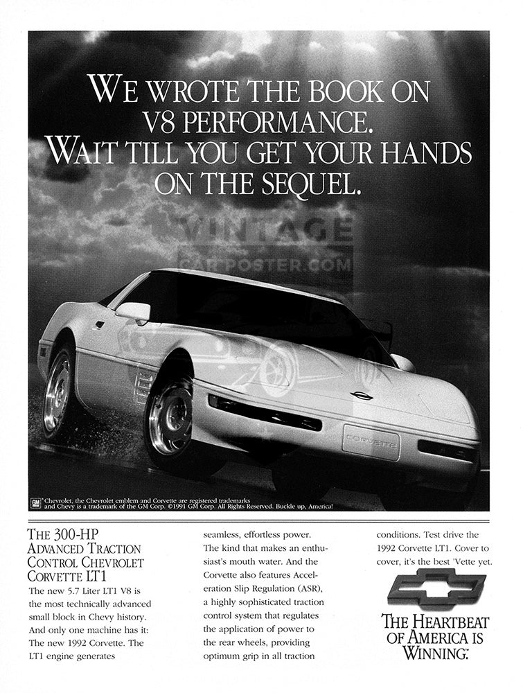 1992 Chevrolet Corvette LT1     #103706