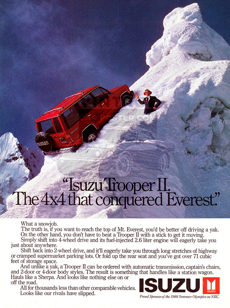 1987 Isuzu Trooper II     #103501