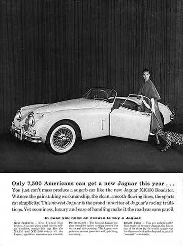1958 Jaguar XK150 XK150S Convertible Roadster     #100055
