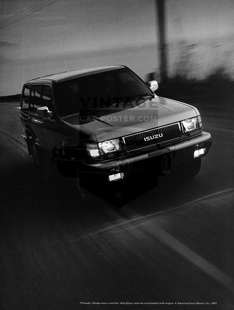 1992 Isuzu Trooper      #103802