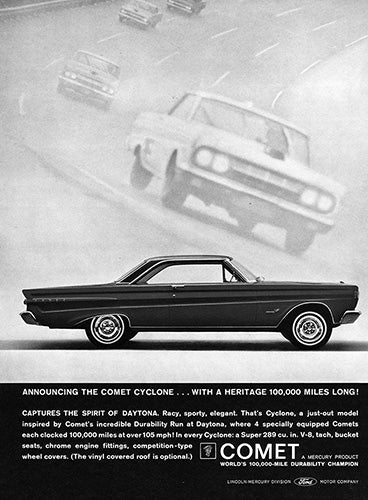 1964 Ford Mercury Comet Cyclone     #100467