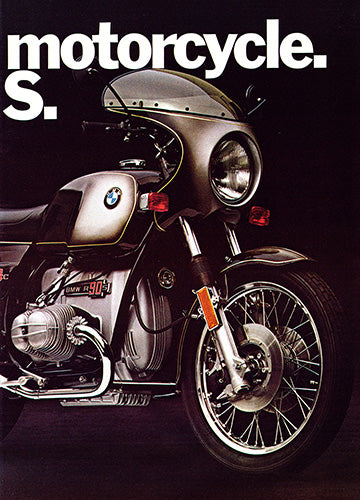 1973 BMW R90S Motorcycle      #101827