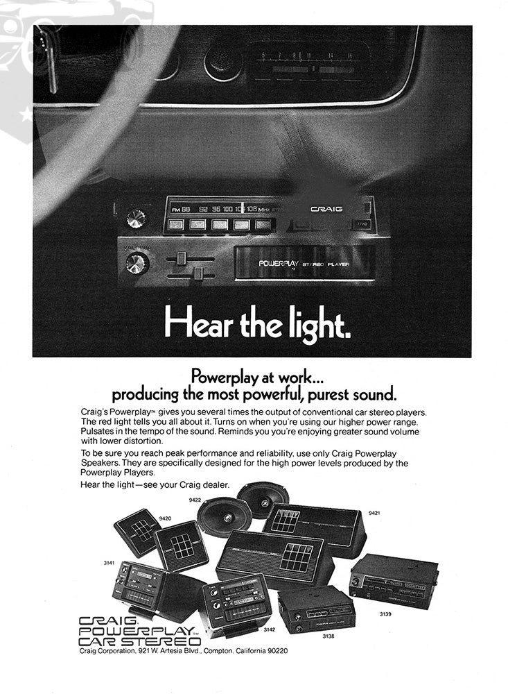 1973 Craig Car Audio     #101851