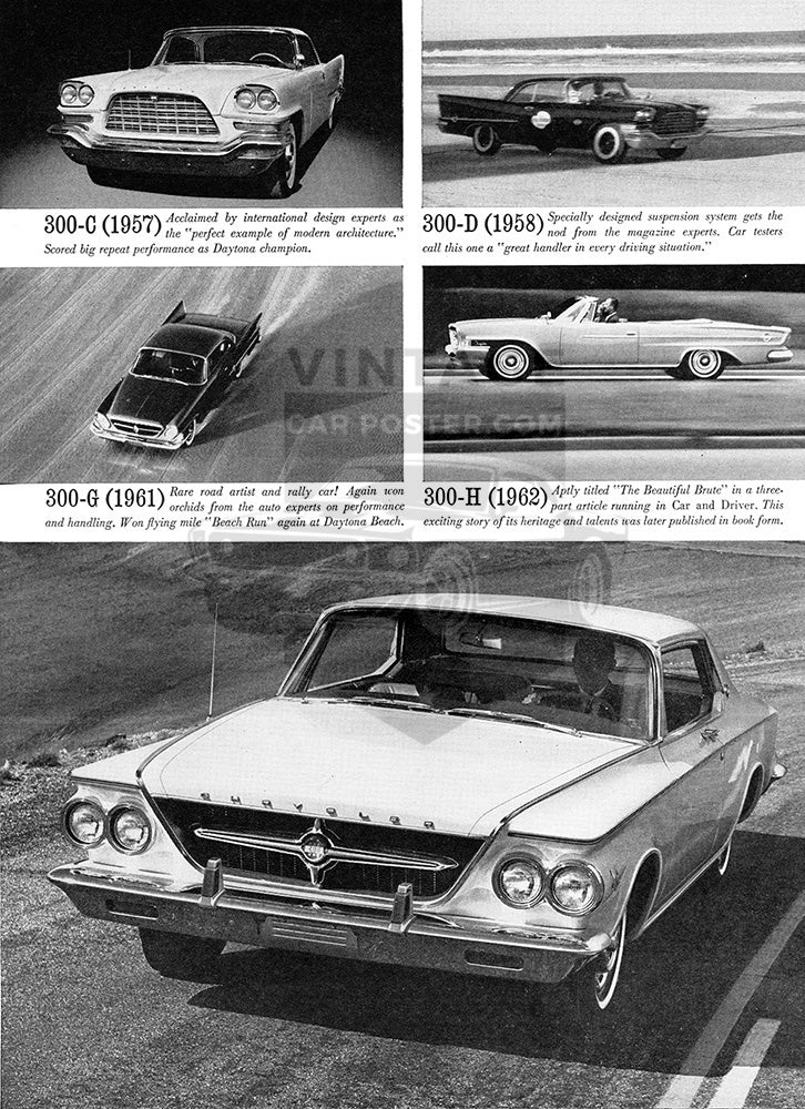 1963 Chrysler 300 J      #100301