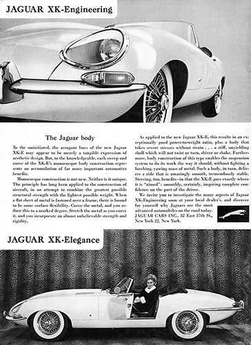 1962 Jaguar XKE Convertible Roadster     #100241