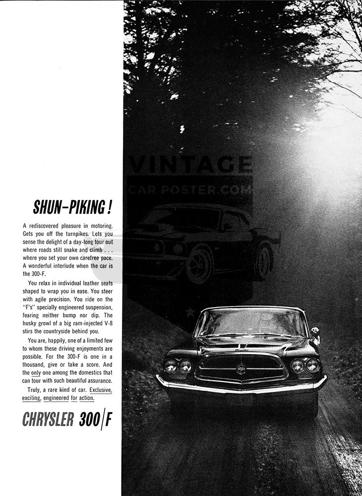 1960 Chrysler 300F     #100120