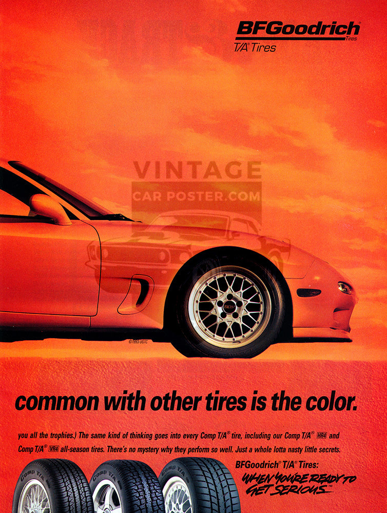 1993 BFGoodrich Tires Mazda RX7 Turbo      #104049