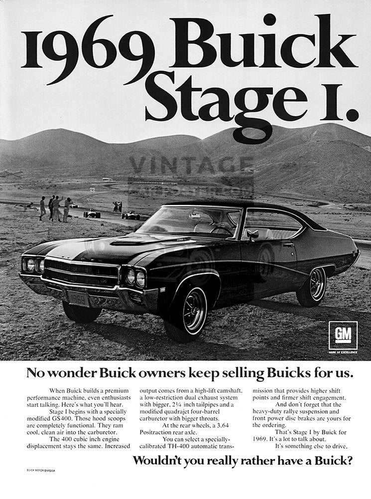 1968 Buick GS400     #100932