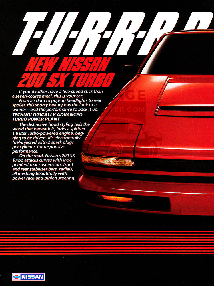 1984 Nissan 200 SX Turbo      #103407