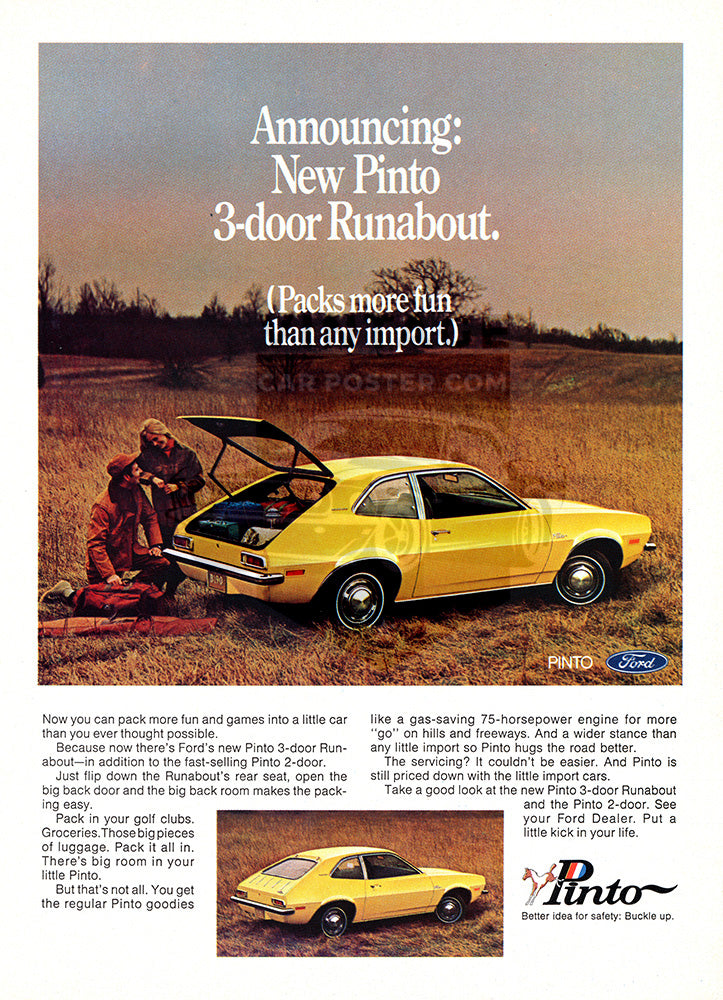 1971 Ford Pinto Runabout     #101478