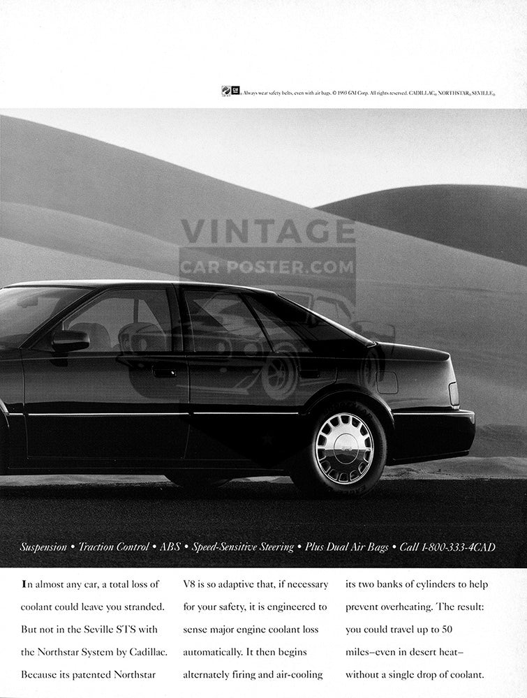 1993 Cadillac Seville STS      #104080
