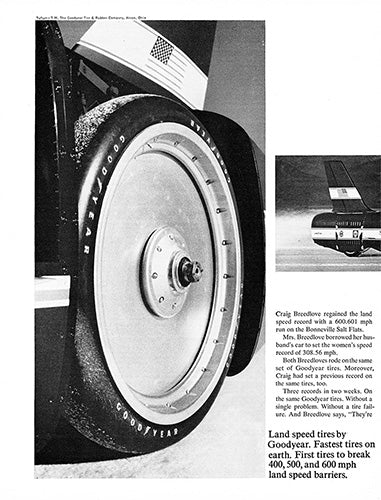 1966 Goodyear Tires Land Speed Record      #100762
