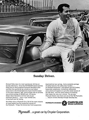 1966 Chrysler Plymouth Belvedere     #100740