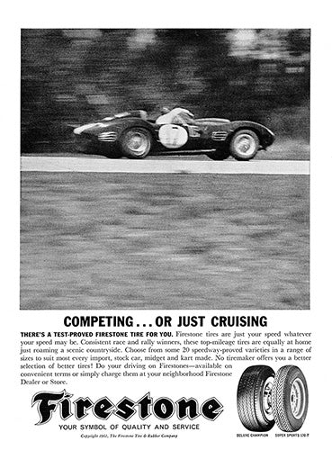 1962 Firestone Tires     #100232