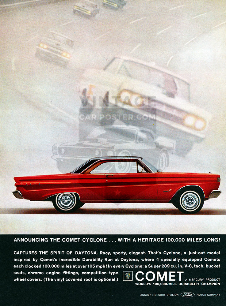 1964 Ford Mercury Comet Cyclone     #100466