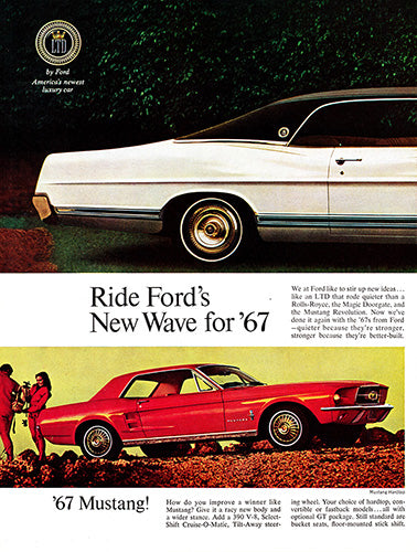 1967 Ford Mustang LTD Fairlane Falcon      #100862