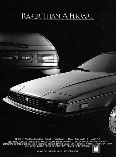 1984 Isuzu Impulse Special Edition     #103382