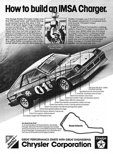 1983 Dodge Shelby Charger     #103191