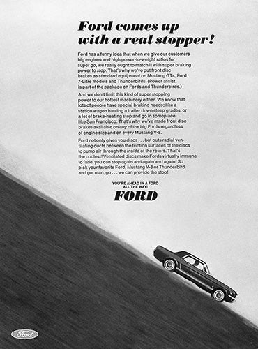 1966 Ford Mustang GT     #100761