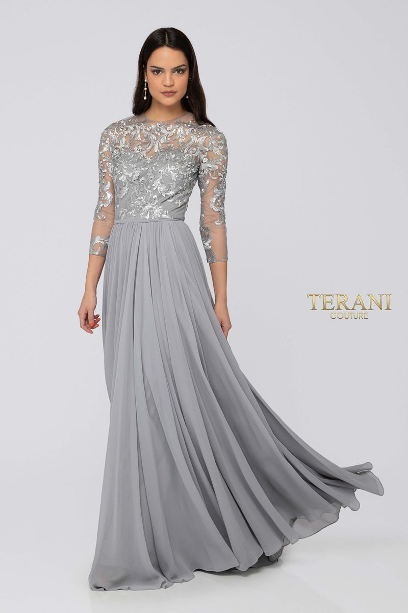TERANI JEWEL GOWN