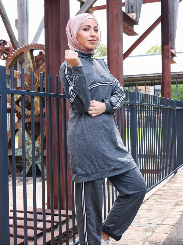 LADIES TWO PIECE TRACKSUIT