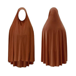LARGE BURNT ORANGE JILBAB