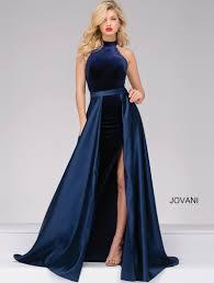 JOVANI PROM DRESS WITH ATTACHED SKIRT