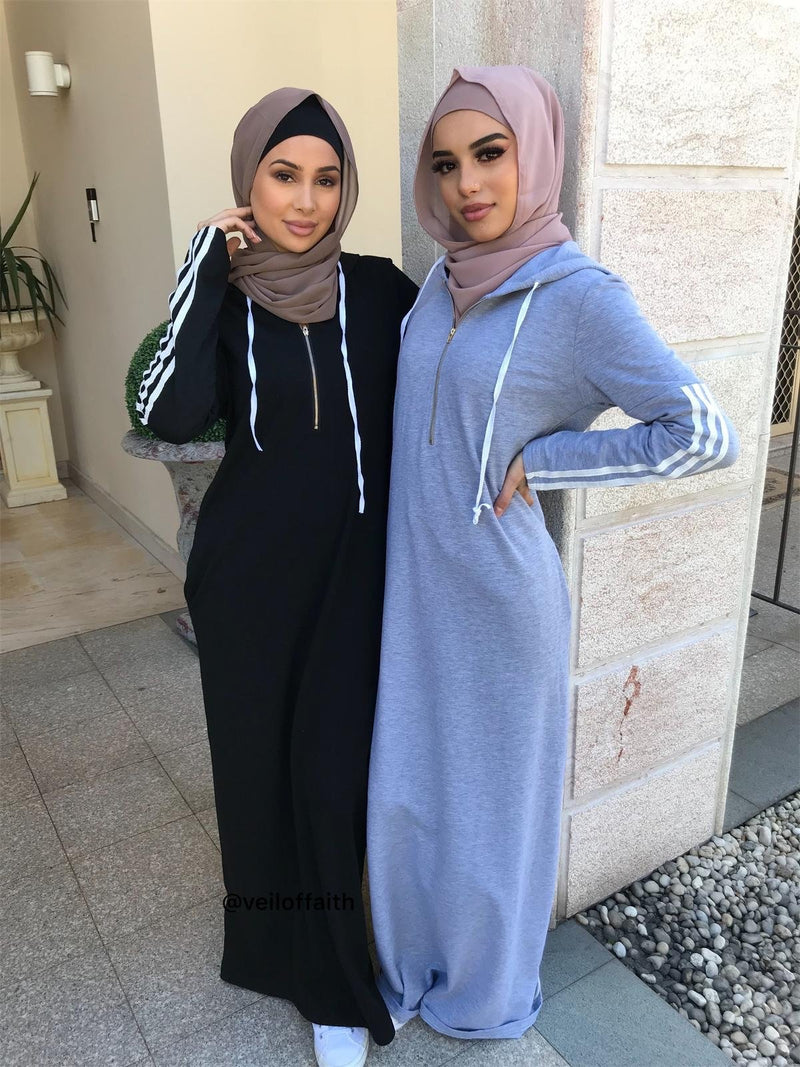 HOODY TRACKIE DRESS