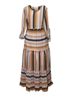 STRIPPED GIRLS DRESS