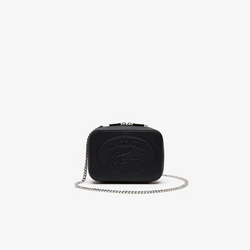 LACOSTE BLACK CROSSOVER BAG