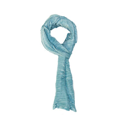 MINT PLEATED SCARF