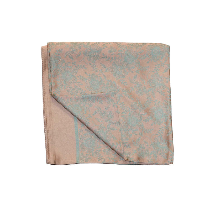 NUDE-MINT SQUARE SCARF