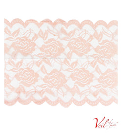 PEACH LACE BAND