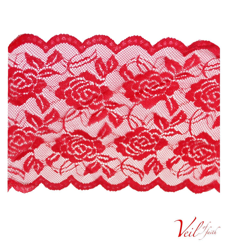RED LACE BAND
