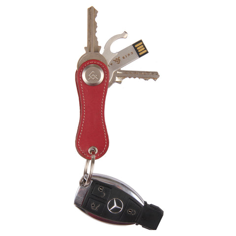 Cle Leather Key Holder + Multipurpose Tool